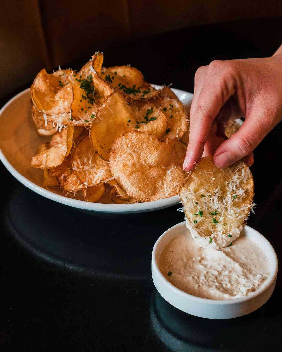 House Potato Chips + Dip