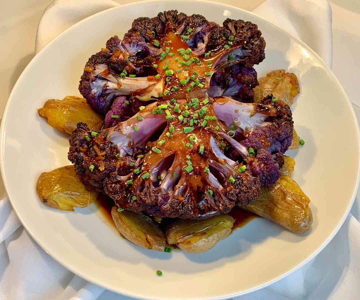 Purple Cauliflower Steak