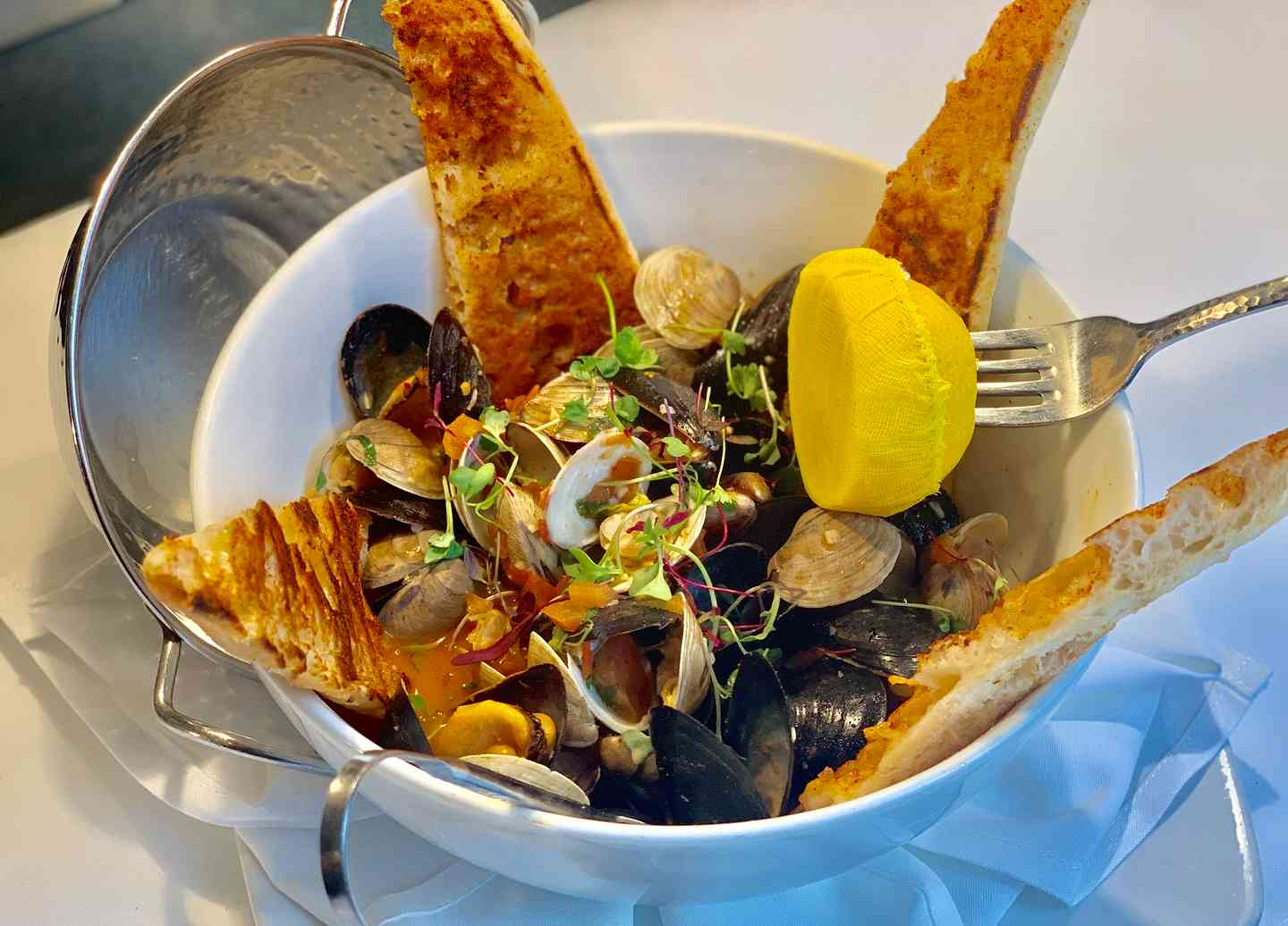 Steamed Clams & Mussels
