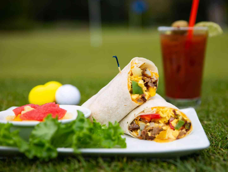 Breakfast Burrito*
