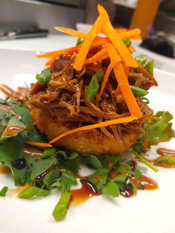 Ginger Pork & Crispy Rice