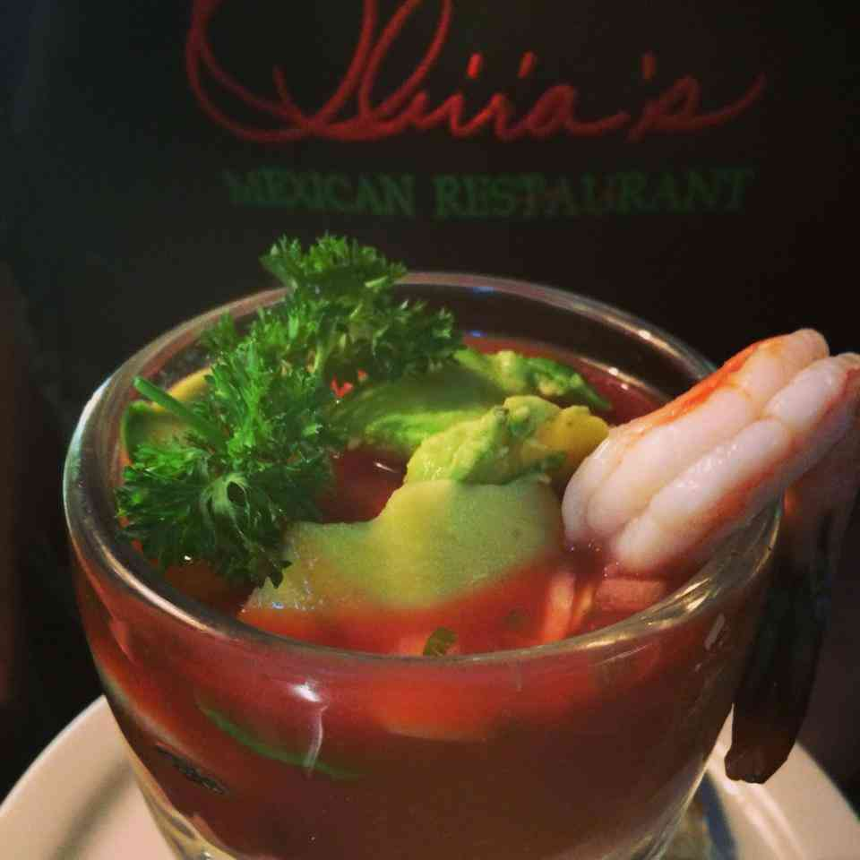 Shrimp Cocktail A La Mexicana