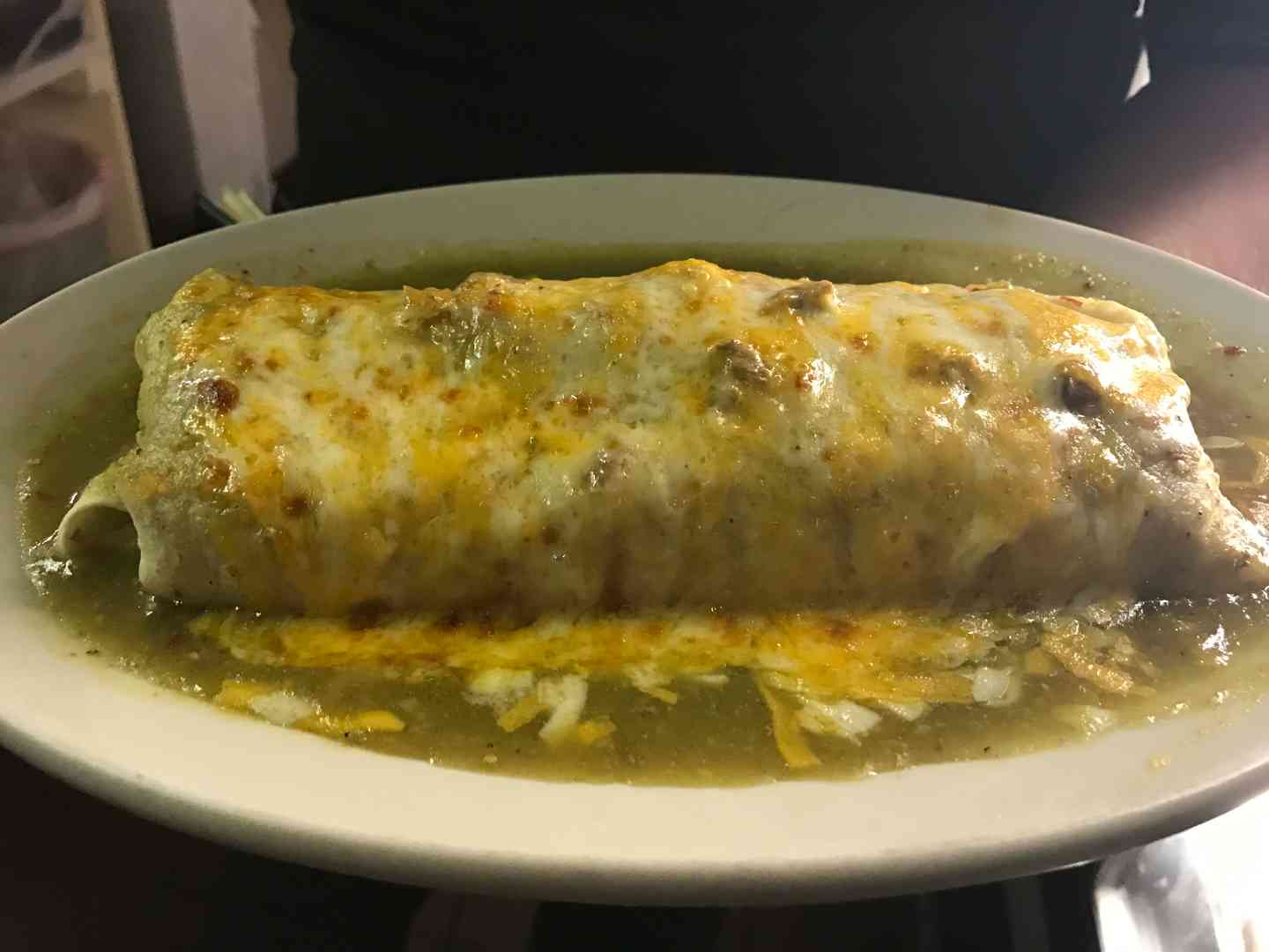 Meat Burrito - Pork