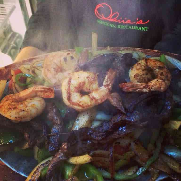 Shrimp and Beef Sizzlin' Fajita