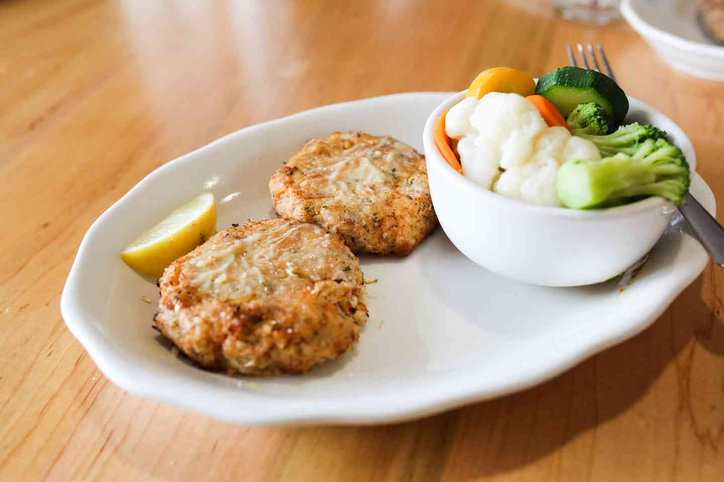 Pan Seared Crab Cakes