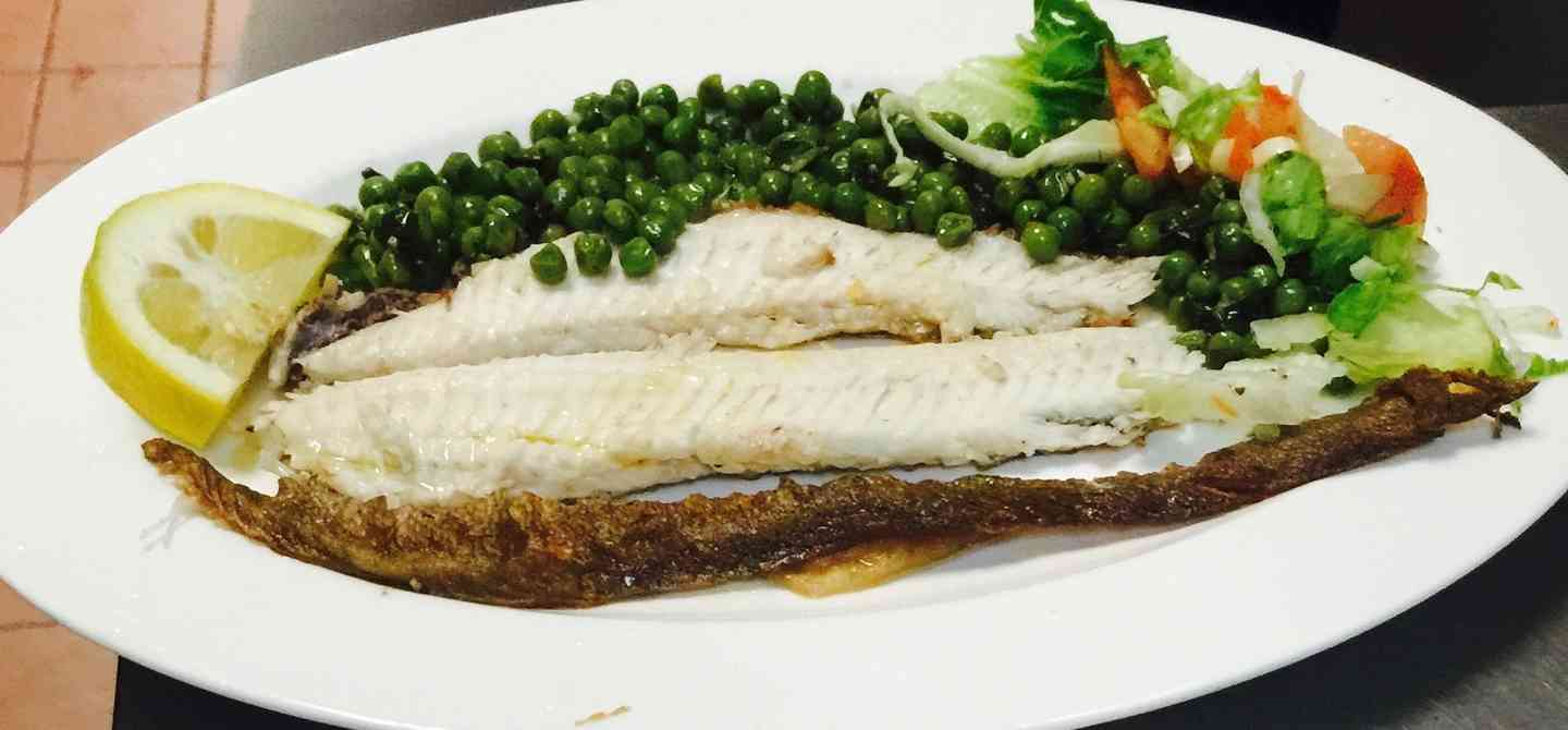 Glossa Tiganiti Pan Fried Dover Sole