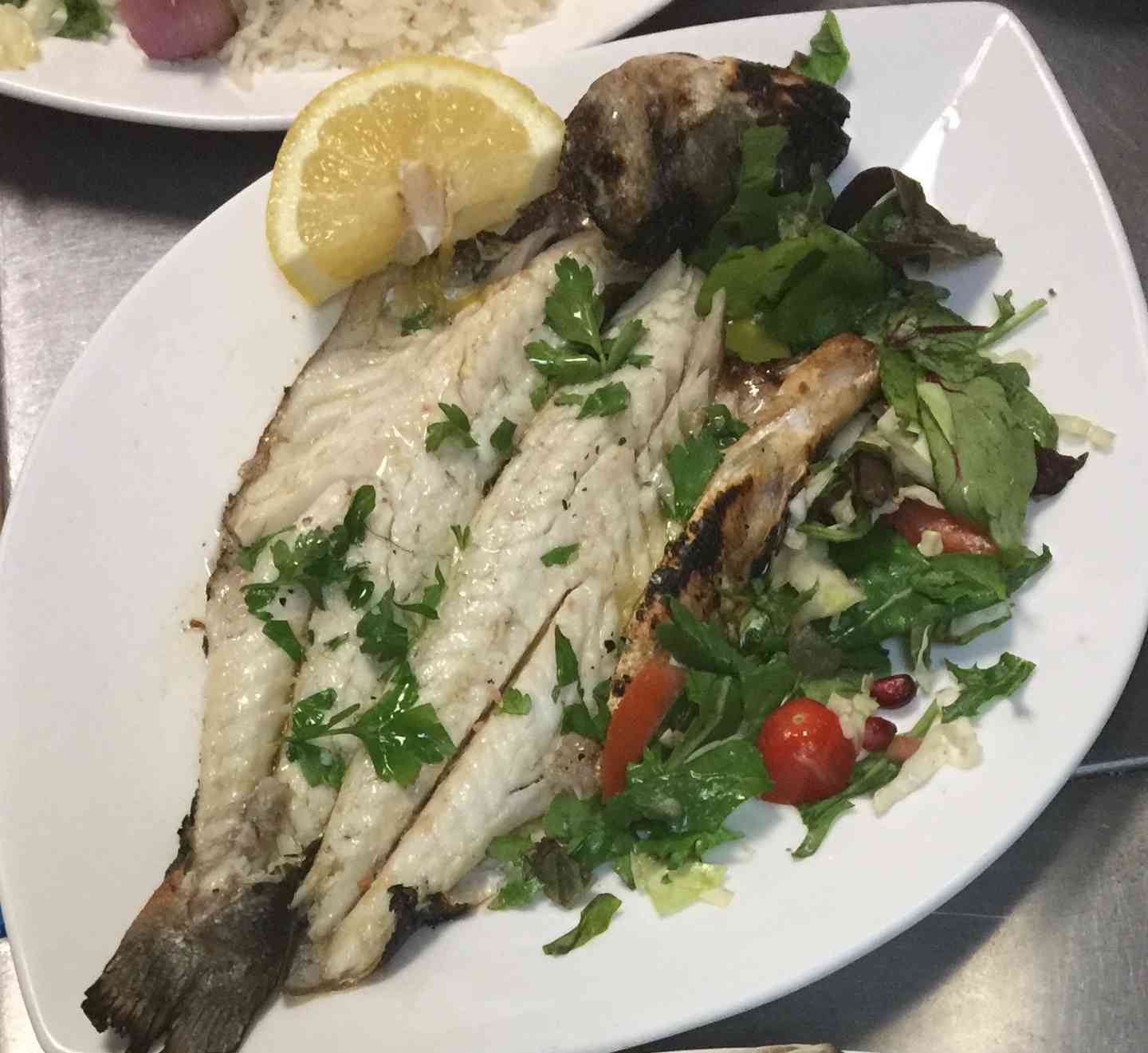 Lavraki- Greek Whole Seabass