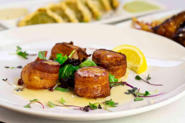 Bacon Wrapped Sea Scallops (gfo)