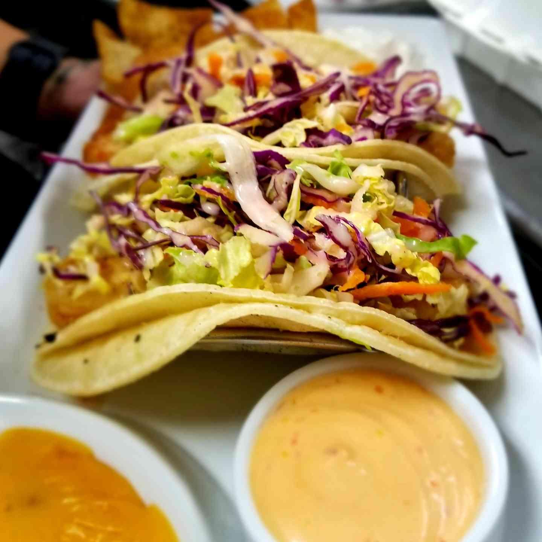Crispy Shrimp Tacos (gfo)