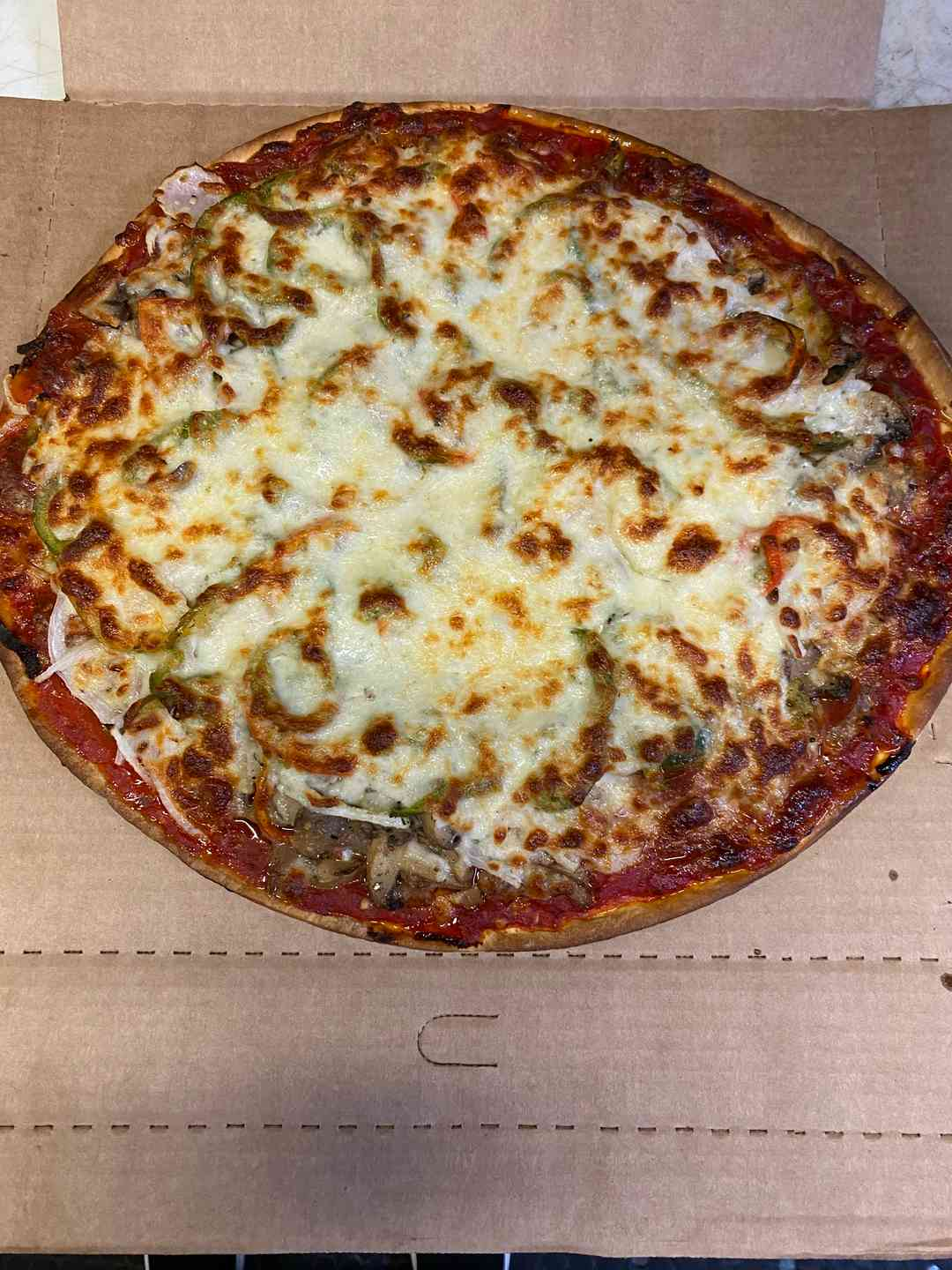 """Family 18"""" Cheese Pizza"""