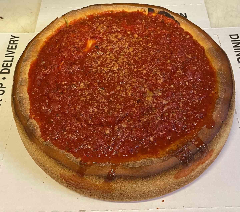 "Small 10"" Cheese Stuffed Pizza"