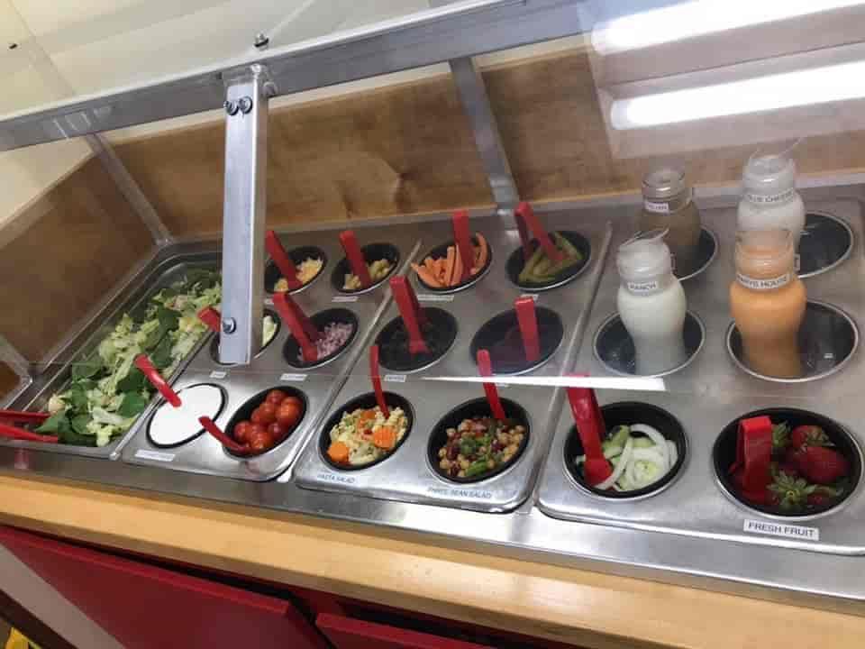 Large Salad Bar