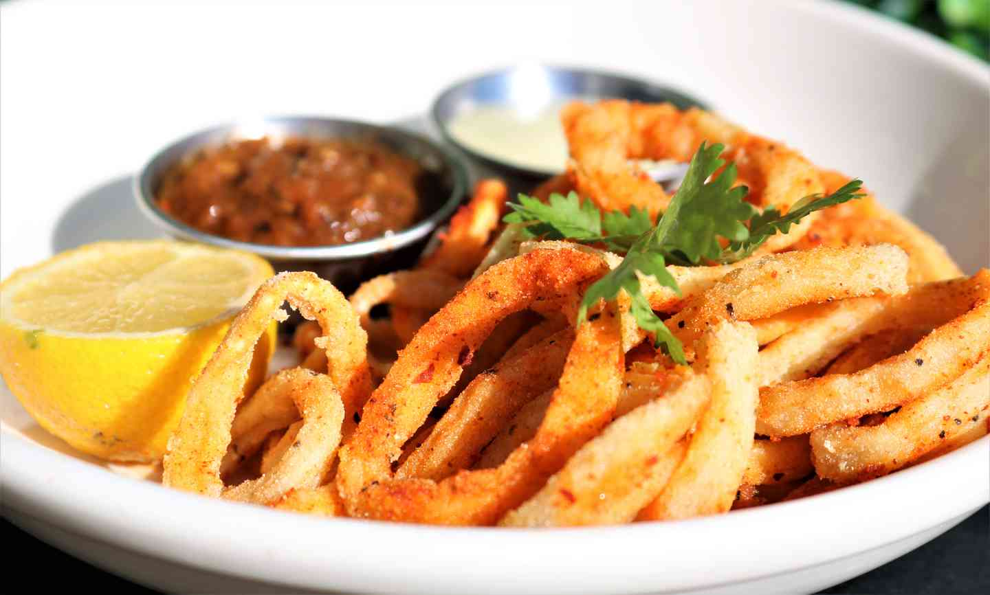 Chile Dusted Calamari