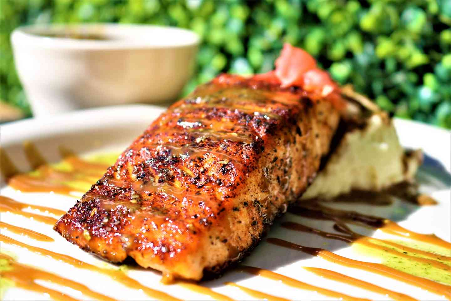 Blackened Voodoo Salmon