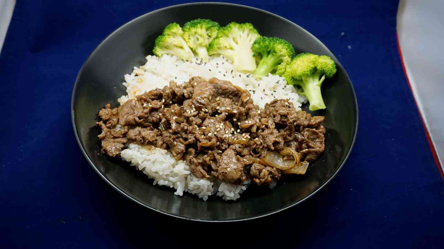 Spicy Beef Rice 辣牛肉飯