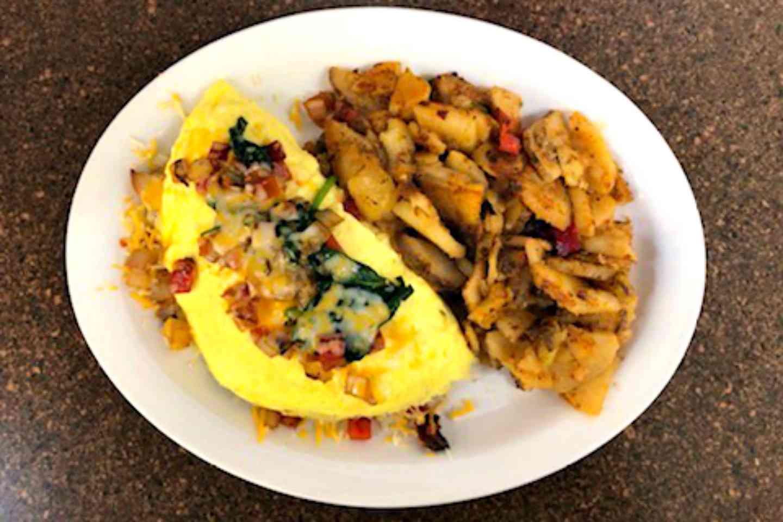 Vegi Cheese Omelette
