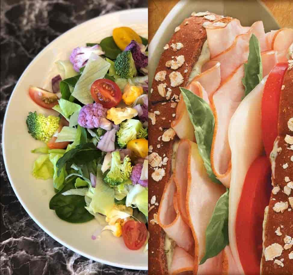 ½ Sandwich & Salad