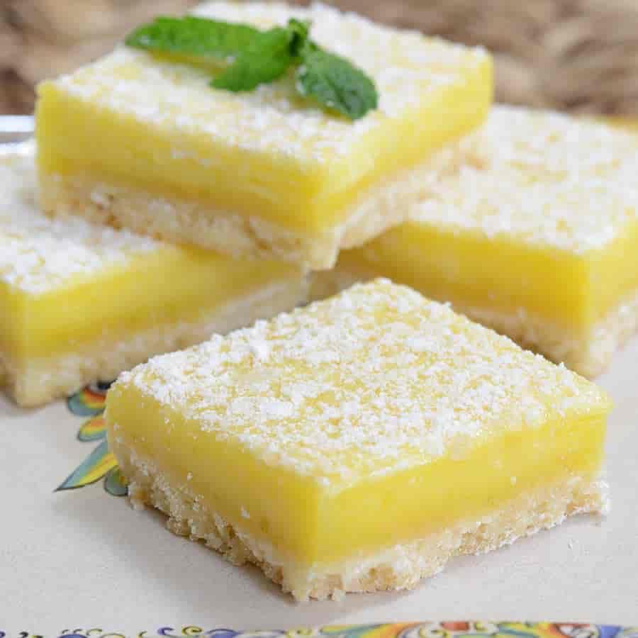 Shortbread Lemon Tart