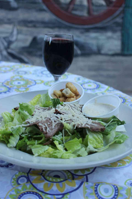 Caesar Salad Bowl (with chicken or tri-tip)