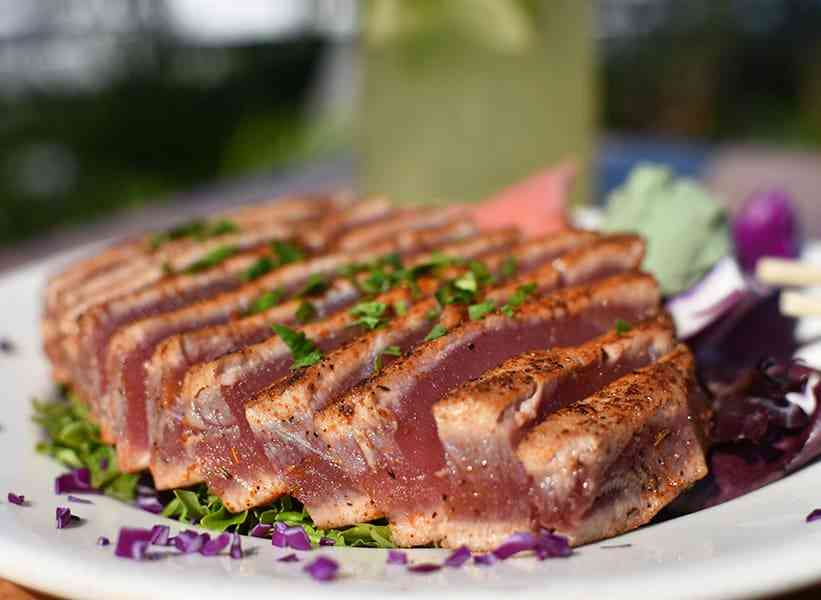 Seared Cajun Ahi