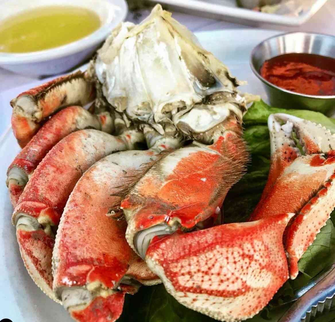 Half-Cracked Dungeness Crab