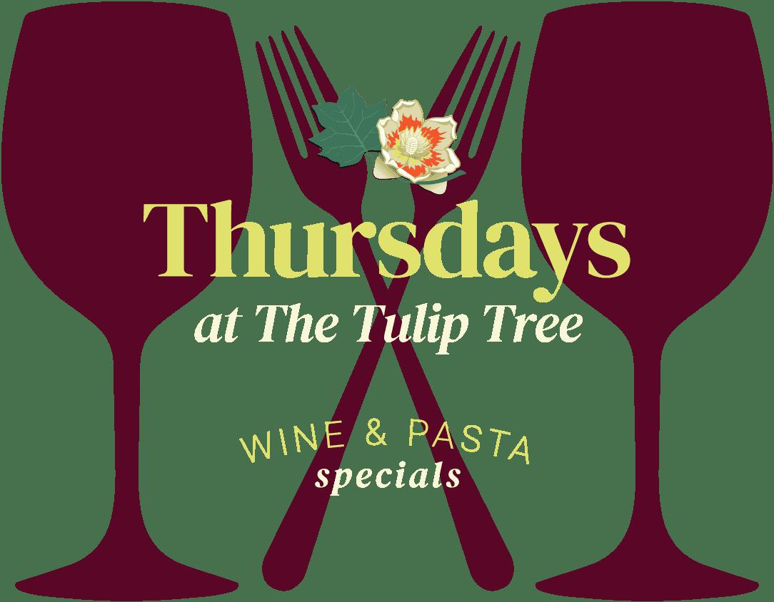 Thursday Wine & Pasta Specials