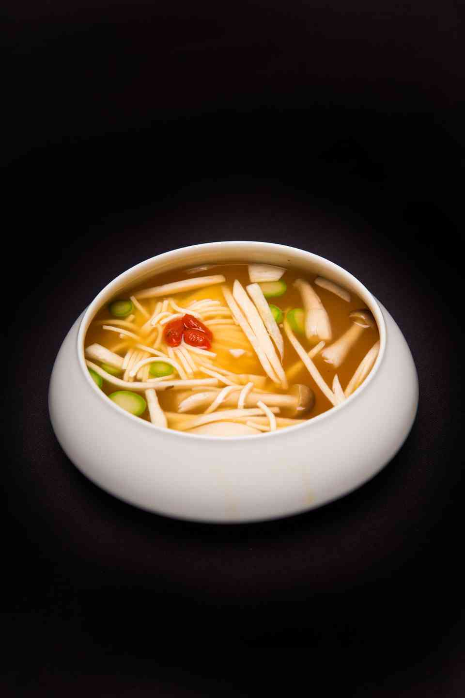 Chrysanthemum Tofu Consomme
