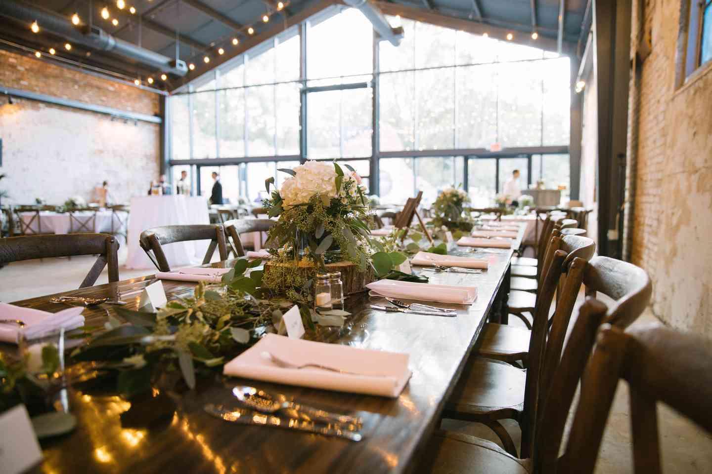 Oconee Brewing Company interior dining