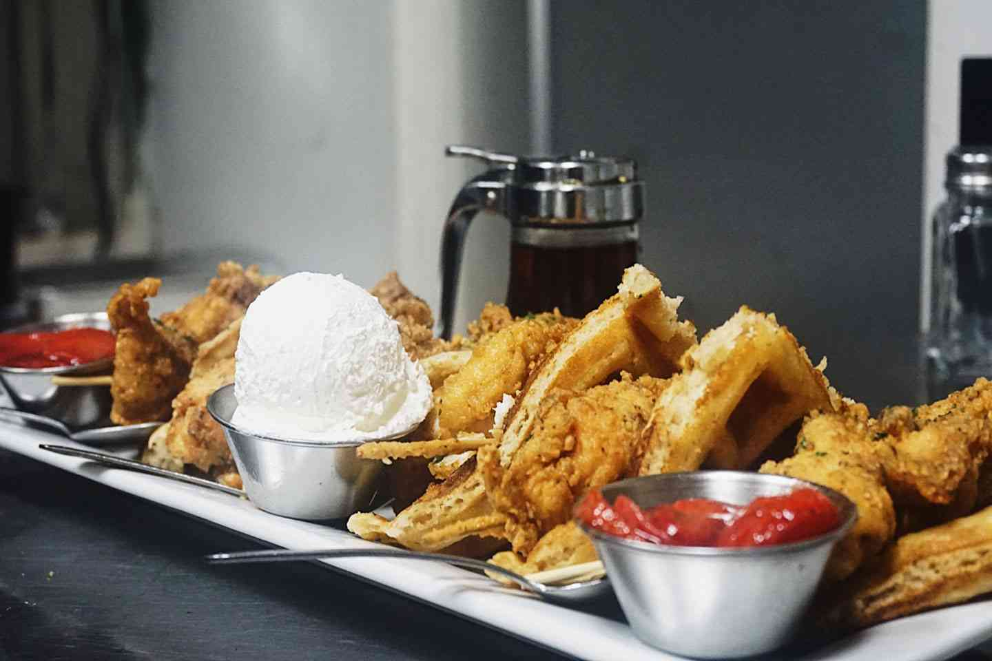 fried food platter