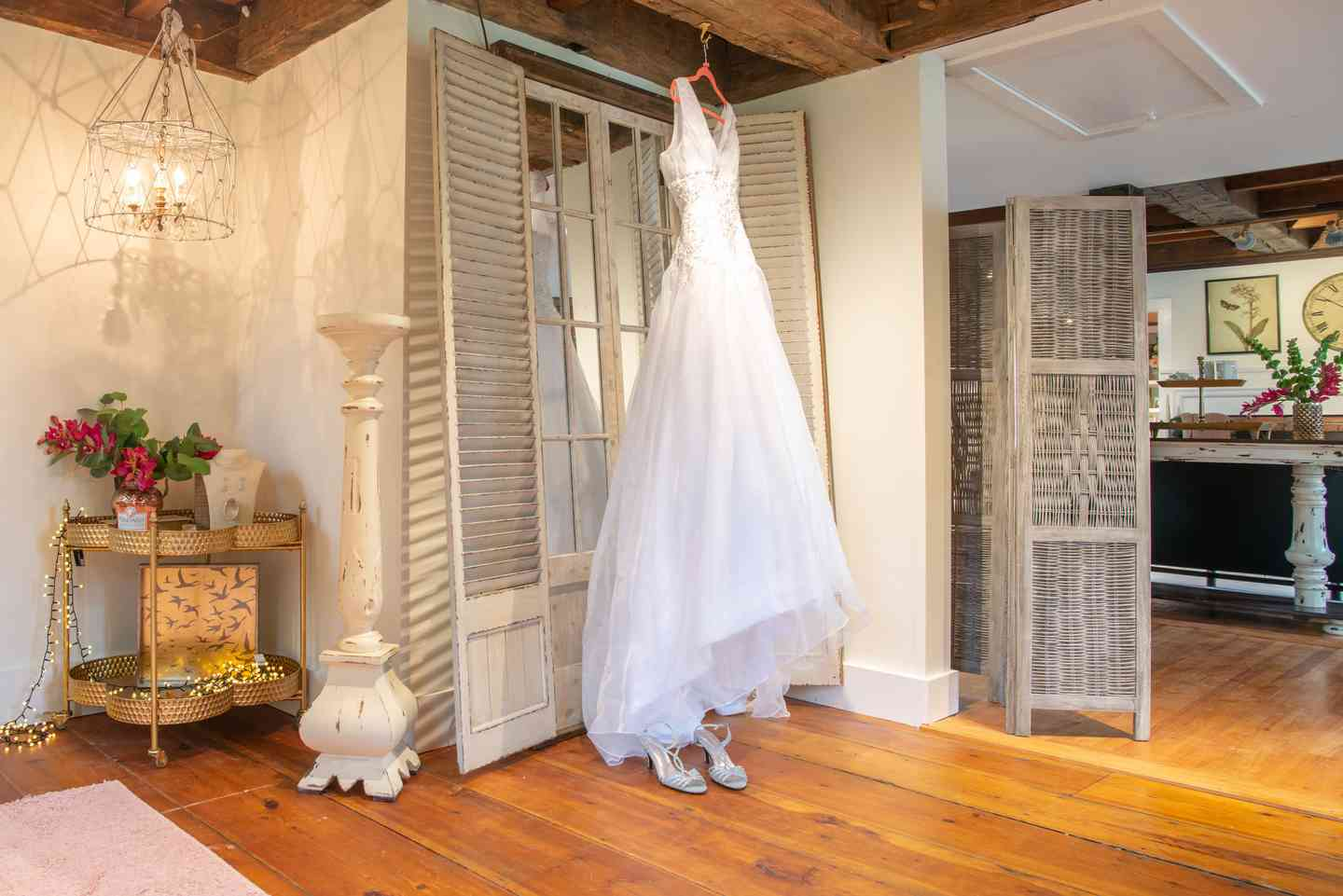 The Barn Bridal Suite