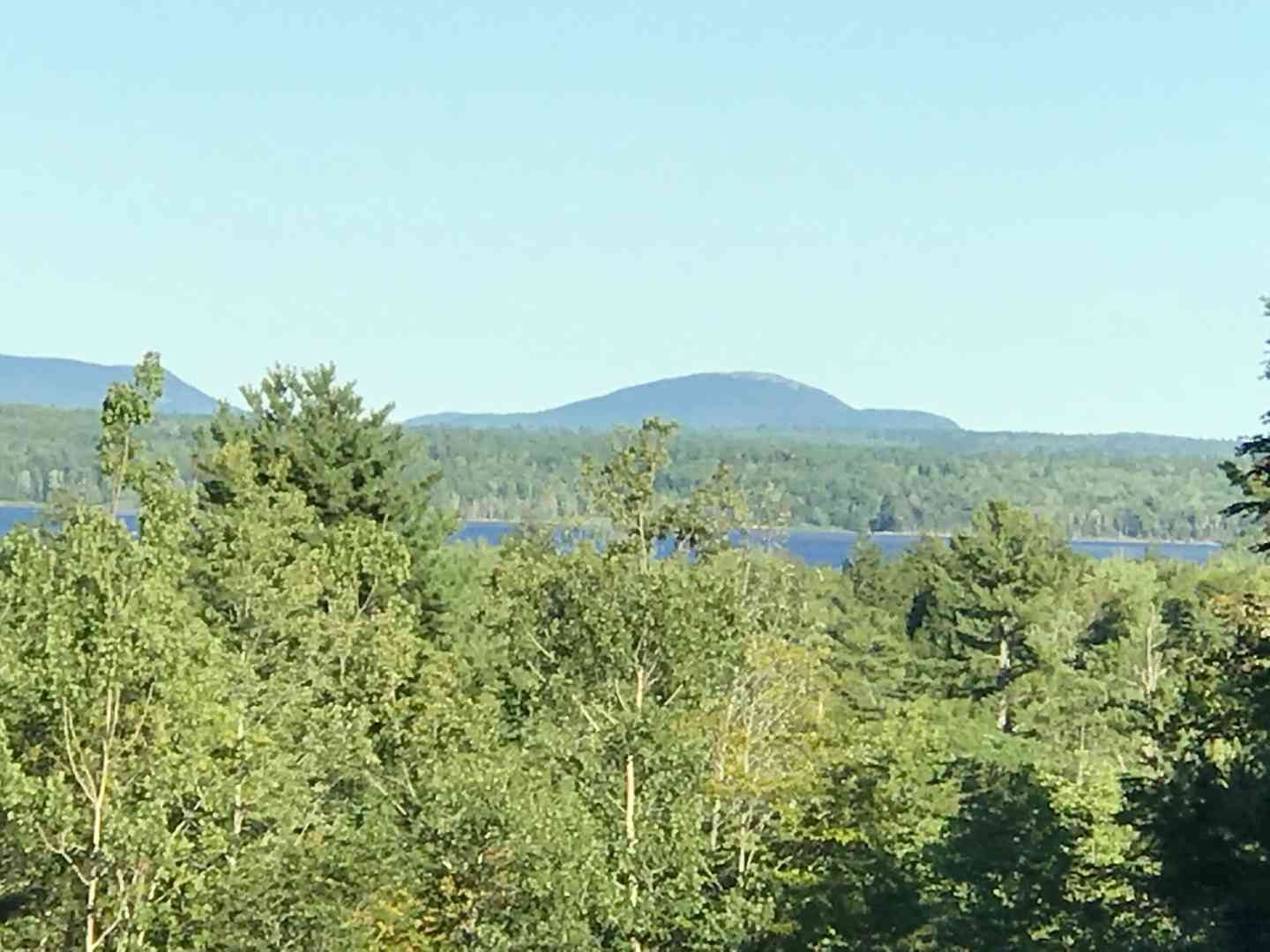 view of maine