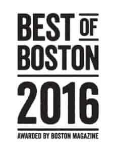 Best of Boston Award