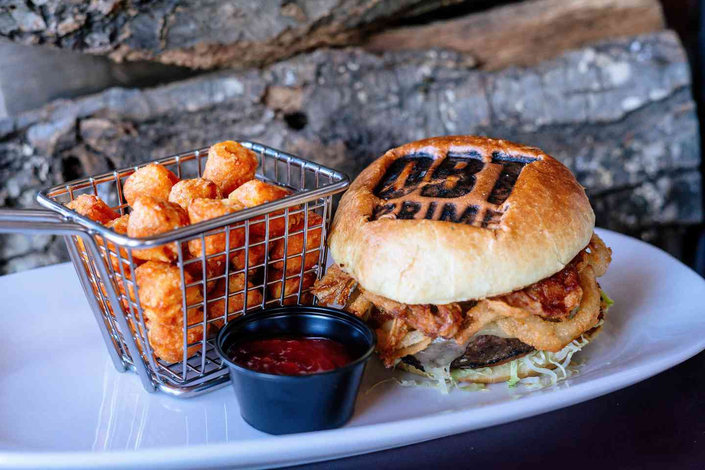 OBT* Bourbon Barbeque Burger