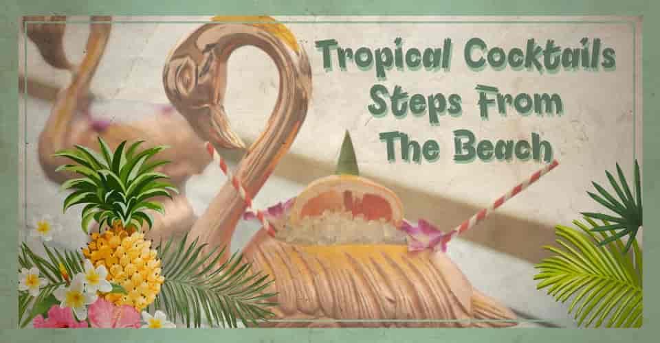 Tropical Cocktails flyer