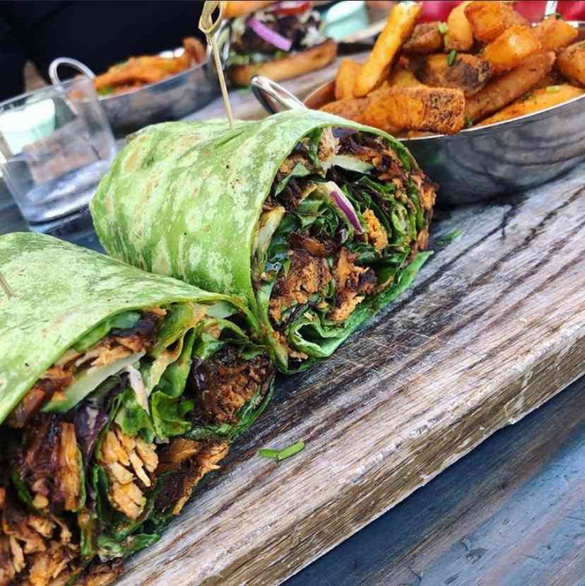 JERK CHICKEN WRAP