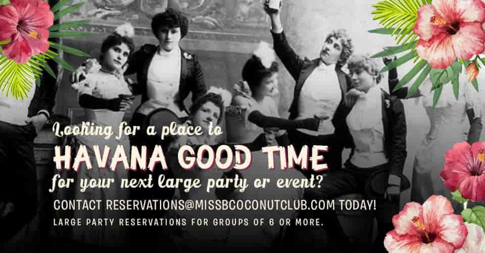 Havana Good Time flyer