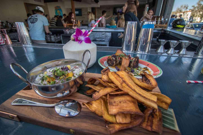 Coconut Seafood Ceviche