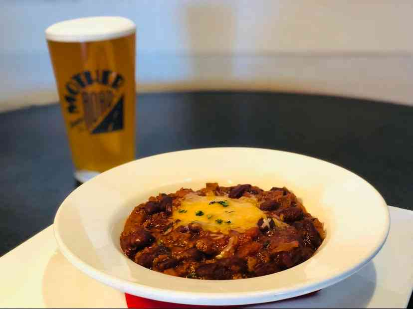 Mother Road IPA Beef Chili
