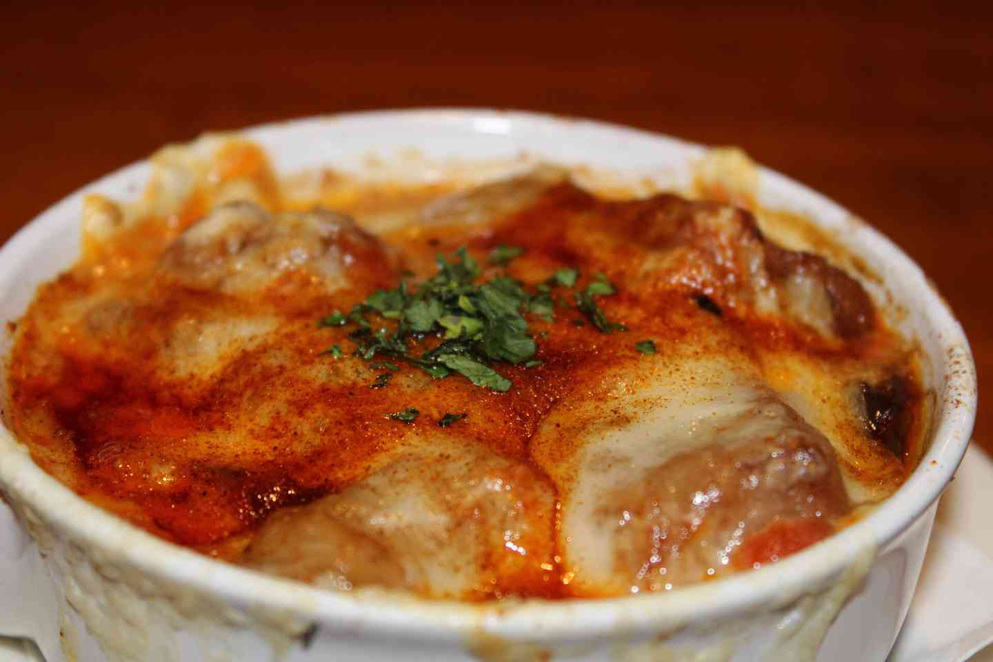 Homemade Baked Onion Soup