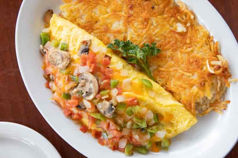 Home Grown Omelette