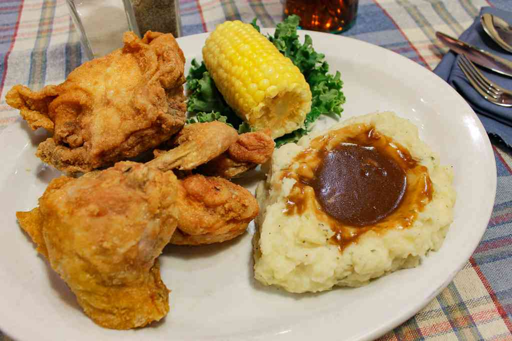Hand Breaded Fried Chicken