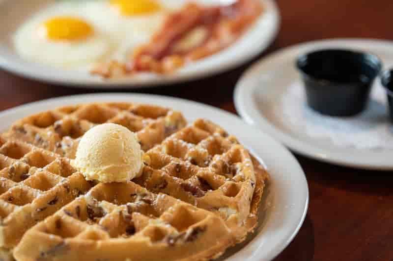 Pecan Waffle Combo