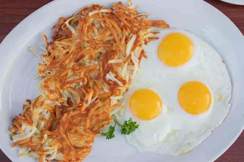 Corky's 3 Eggs