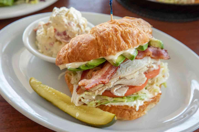 Turkey Bacon Avocado Sandwich