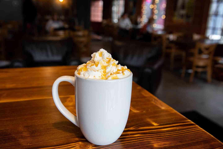 Caramel Infusion Latte