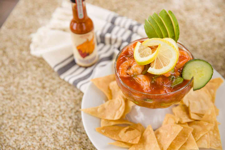 Mexican Shrimp Cocktai