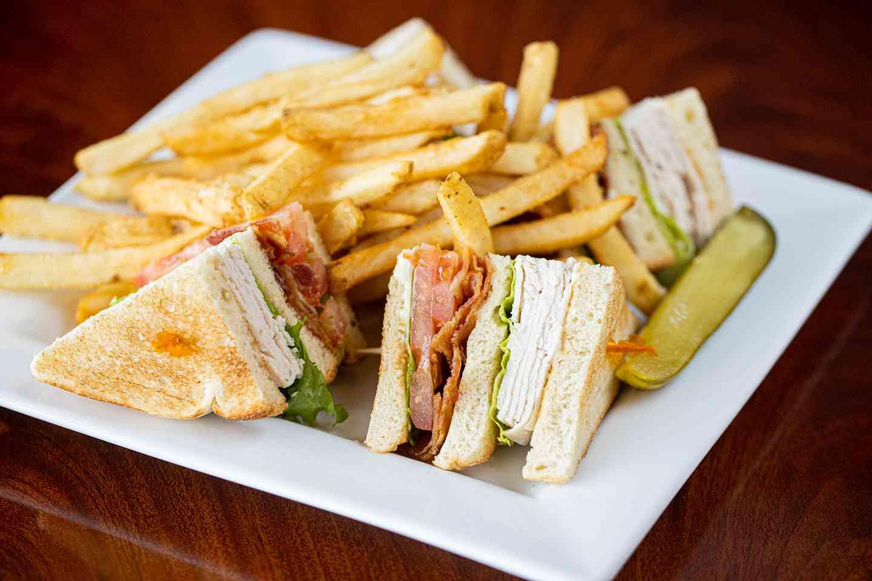 Classic Turkey Club Sandwich