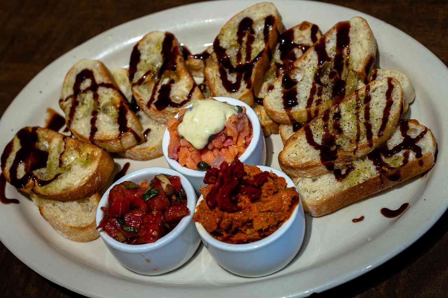 Bruschetta Flight - 3 or 5 Items