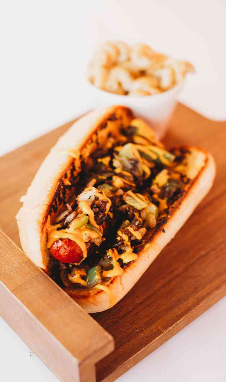 Hot Link Sandwich