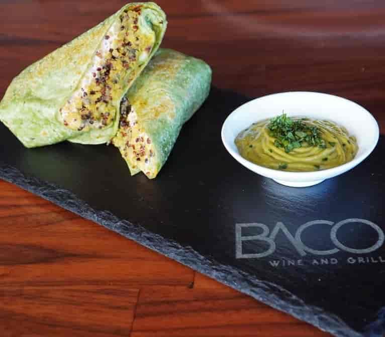 Quinoa Spinach Wrap